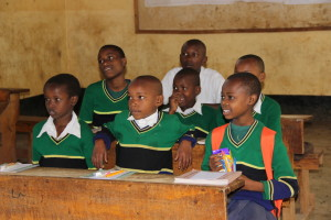EEF students of Njoro Primary School