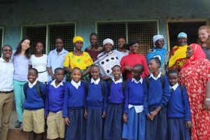 Meeting with Caregivers at Magareza Primary School