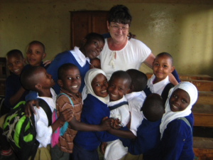 One volunteer opportunity is teaching or tutoring English to EEF sponsored children